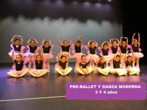 Pre-Ballet y Danza Moderna
